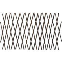 Willow Trellis Fences 5 pcs 180x30 cm