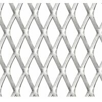 Garden Wire Fence Stainless Steel 50x50 cm 45x20x4 mm
