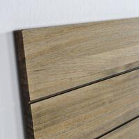 Tête de lit en bois massif de pin. Planches bois. 150X60x1,8cm.
