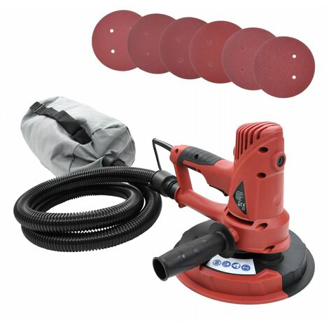 Topdeal VDTD04947_FR Ponceuse pour cloison sèche avec fonction d'aspiration 710 W