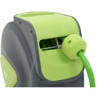 Topdeal VDTD05782_FR Enrouleur mural automatique pour tuyau rétractable 10+1 m