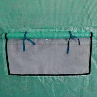 Topdeal VDTD27376_FR Serre portable Cadre en acier 18 m2