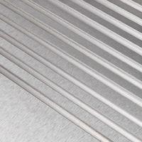 Topdeal VDTD30587_FR Plancha électrique Acier inoxydable 3000 W 54 x 41 x 24 cm