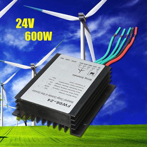 Régulateur étanche de controleur de charge de batterie de générateur d'éolienne 600W 24V