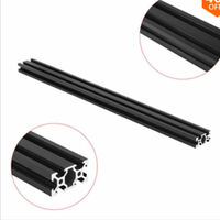 Machifit 1000mm 2040 V-Slot Aluminium Profil Extrusion Cadre DIY CNC Outil Noir 1000mm