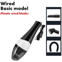 Aspirateur à main filaire Petite Mini voiture portable Auto (noir, modèle de base filaire)