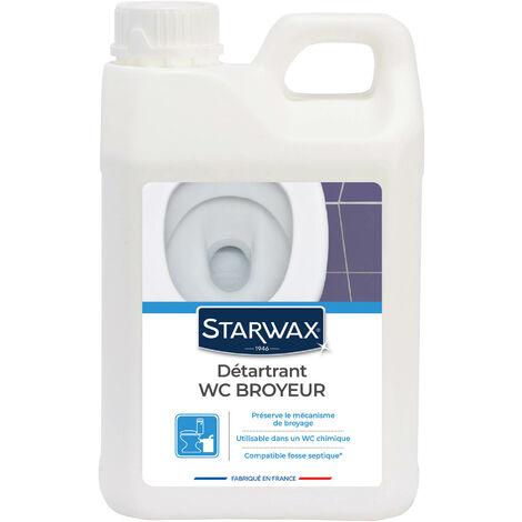 Détartrant pour WC broyeurs 2L STARWAX