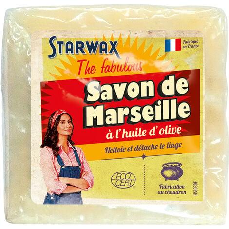 Savon de Marseille à l'huile d'olive 300g STARWAX FABULOUS