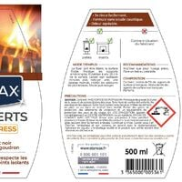 Nettoyant express inserts pour poële et cheminée 500ml STARWAX