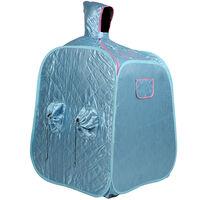 BATHRINS®SPA Sauna Portable\Cabine de sauna 2.5L pour 2 personnes Bleu.