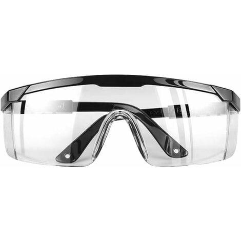 Lunettes de protection transparentes, protection anti-UV et anti-buée et anti-poussière, lunettes de protection