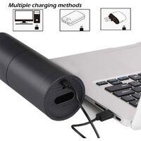 Aspirateur à main Aspirateur et souffleur de voiture rechargeable portable sans fil 2 en 1, mini aspirateur pour le nettoyage du clavier, ordinateur, bureau, poils d'animaux, voiture, maison