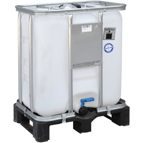 Contenedor IBC de 300 litros 60 x 80 x 104 cm