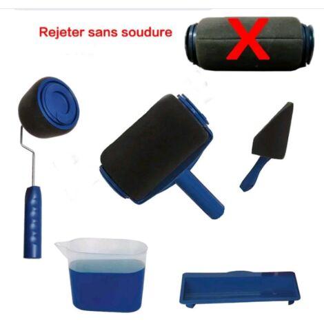 Kit Rouleau de Peinture,RENOVATOR PAINT RUNNER PRO avec Reservoir, rouleau peinture anti goutte rouleau kit