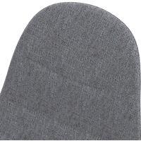 Chaise Yolo gris clair (lot de 2) - Gris