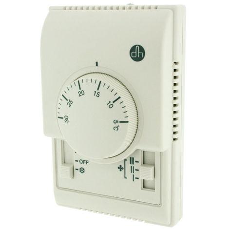 Thermostat électronique Couleur blanc Electro DH 11.804 843055552117949