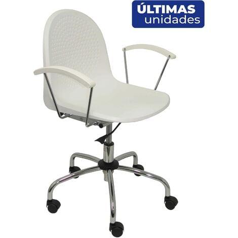 Chaise Ves pivotante, blanche