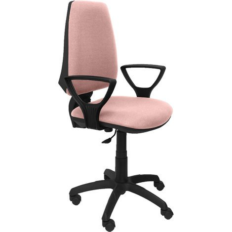 Elche CP bali chaise rose pâle à bras fixes