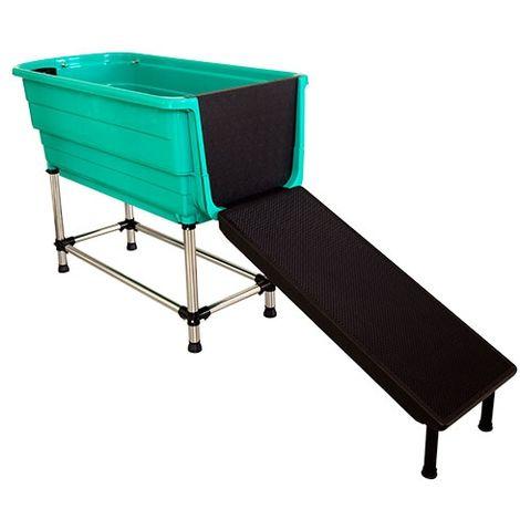 Grande baignoire pour chien, adaptée aux salons de toilettage et à la maison Ibáñez Breeder's Choice.
