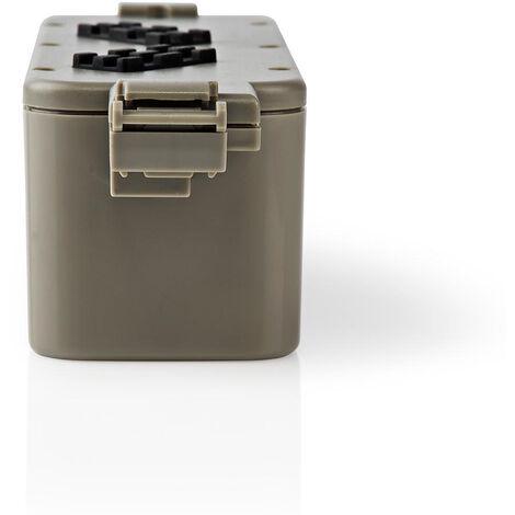 Nedis Batterie d'aspirateur | Convient pour: iRobot iTouchless AV / iRobot M-288 / iRobot M-488 / iRobot Roomba 440 | Ni-MH | 14.4 VDC | 3300 mAh | 47.52 Wh NE550702010