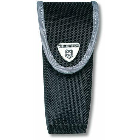Pochette de ceinture Victorinox en nylon, fermeture auto-agrippante, avec passant de ceinture, hauteur 35 mm, 37 g, couleur noire, 4.0547.3