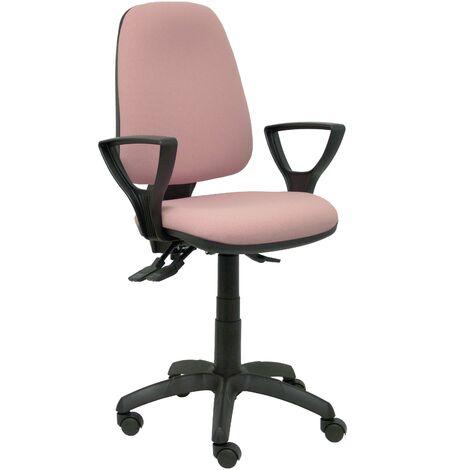 Chaise rose tarancon avec accoudoirs
