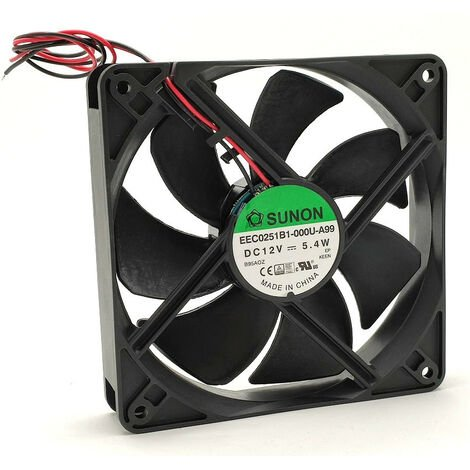 Ventilateur 12vdc 120x120x25mm 2w 5,3w Eec0251b1-a99
