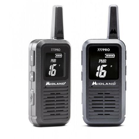 Paire de talkies-walkies Pmr446 777 Pro Midlan C1365