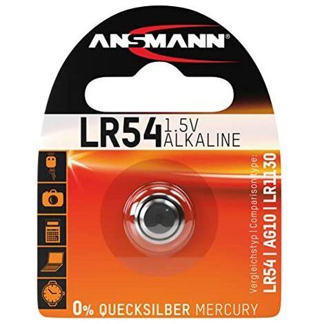 Ansmann 5015313 LR54 - Piles bouton, pile alcaline - 1,5V