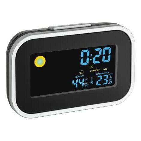 TFA Dostmann 60.2015 - Réveil numérique avec indicateur météorologique