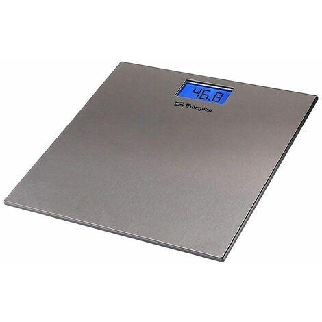 Pèse-personne orbegozo pb-2222/ jusqu'à 150kg/ gris