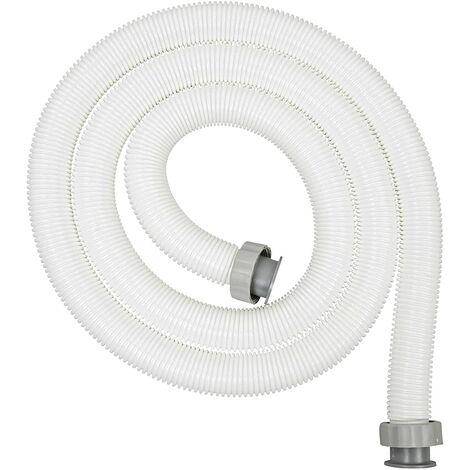 Bestway 58368 - tuyau flexible de 3 mètres de diamètre 38 mm raccord fileté.
