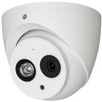 Caméra dôme IP 3.6mm 4Mpx Dôme avec microphone