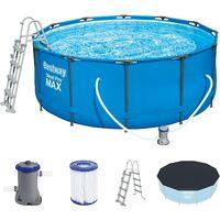 Bestway 56420 - piscine pro max en acier avec filtre m