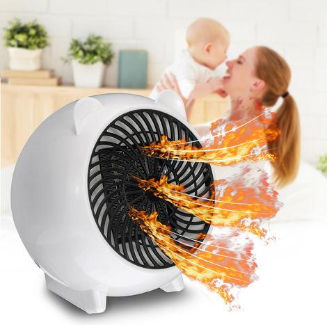mini PTC Réchauffeur Portatif Chauffage électrique mignon 500W