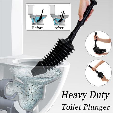 Deboucheur wc toilette canalisation télescopable piston détachable