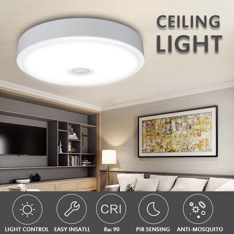 XIAOMI 10W LED Plafonnier detecteur de mouvement rond pour salon chambre