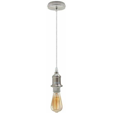 Ceiling Rose Light Fitting Vintage Industrial Pendant Light Bulb Holder