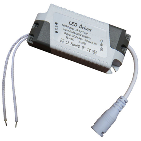 8W-12W 300mA DC 25-45V Compact Constant Current LED Driver