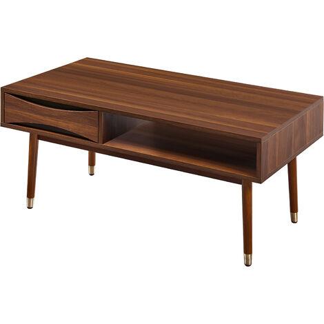 Versanora Dawson MidCentury Modern Wooden Coffee Table Living Room VNF-00065