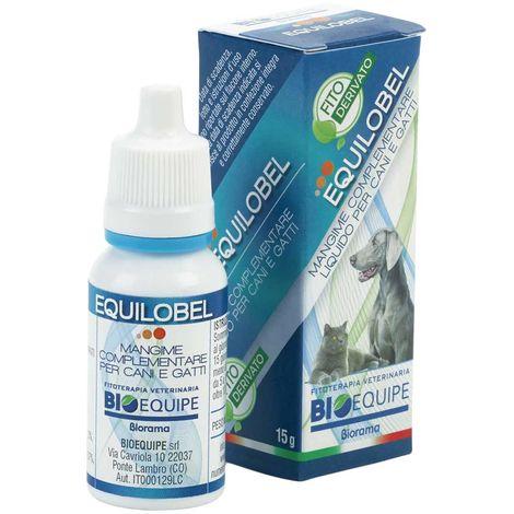 EQUILOBEL traitement adjuvant bronchite, toux, respiration chien et chat 15 g