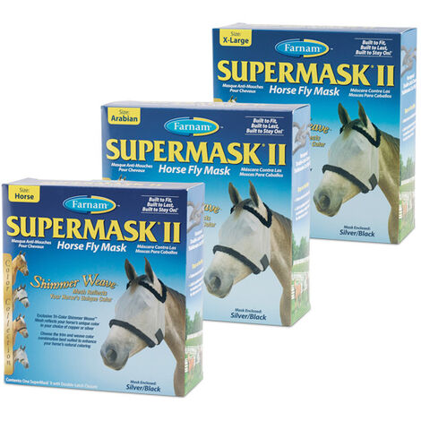 Supermasque poney
