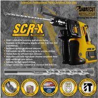 3pcs SabreCut 7mm x 160mm PGM Approved SDS Drill Bits SDSA7_3