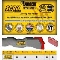 5pcs SabreCut 5.5mm x 260mm PGM Approved SDS Bits - SDSC55_5