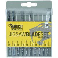 10pcs SabreCut Jigsaw Blade Set - JSSCK002