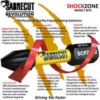 50pcs SabreCut 32mm PH2 Impact Bits + Box SCRPH23250B