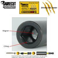 11pcs SabreCut 32mm PZ2 Impact Bit Set - SCRKB11PZ2