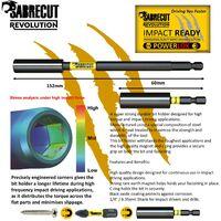 11pcs SabreCut 32mm PZ2 Impact Bits & Bit Holder - SCRK3