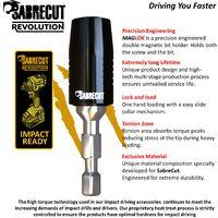 6pcs SabreCut 60mm Impact Bit Holder With Impact Bits - SCRK4