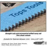 15pcs TopsTools T118A Jigsaw Blades - JSTT118A_3